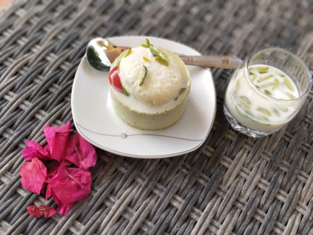 Pistachio, dessert, rasmalai