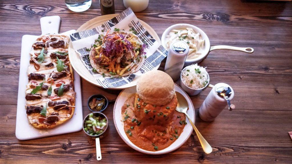 food, restaurant, black salt, sharjah