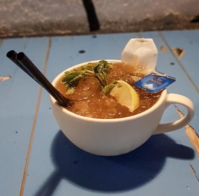 Punerioska, caprioska, drink, tea, masala tea, chai