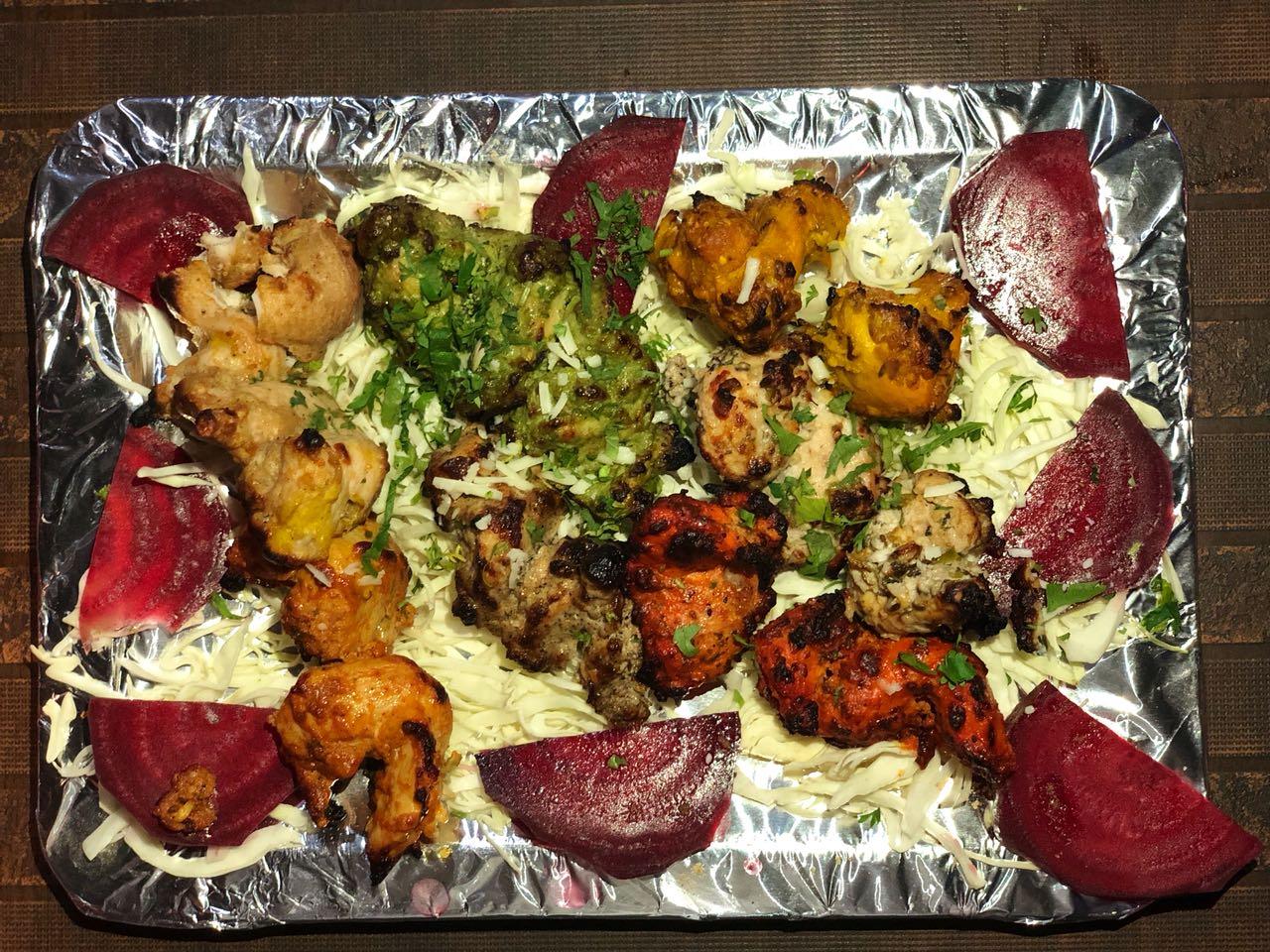 Chicken Mini Platter, platter, sizzlers, dhaba ka khaana