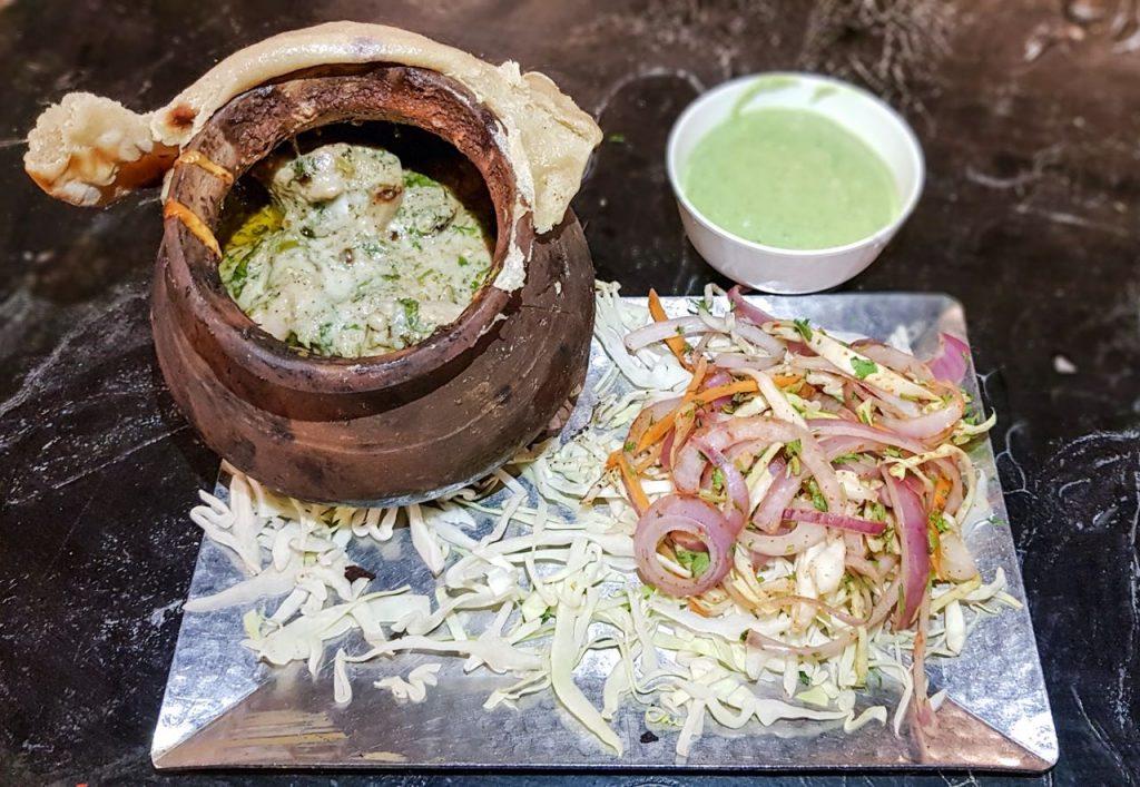 kukkad, dum, matka, slow-cooked, chicken, bhuna, masala, punjabi chicken