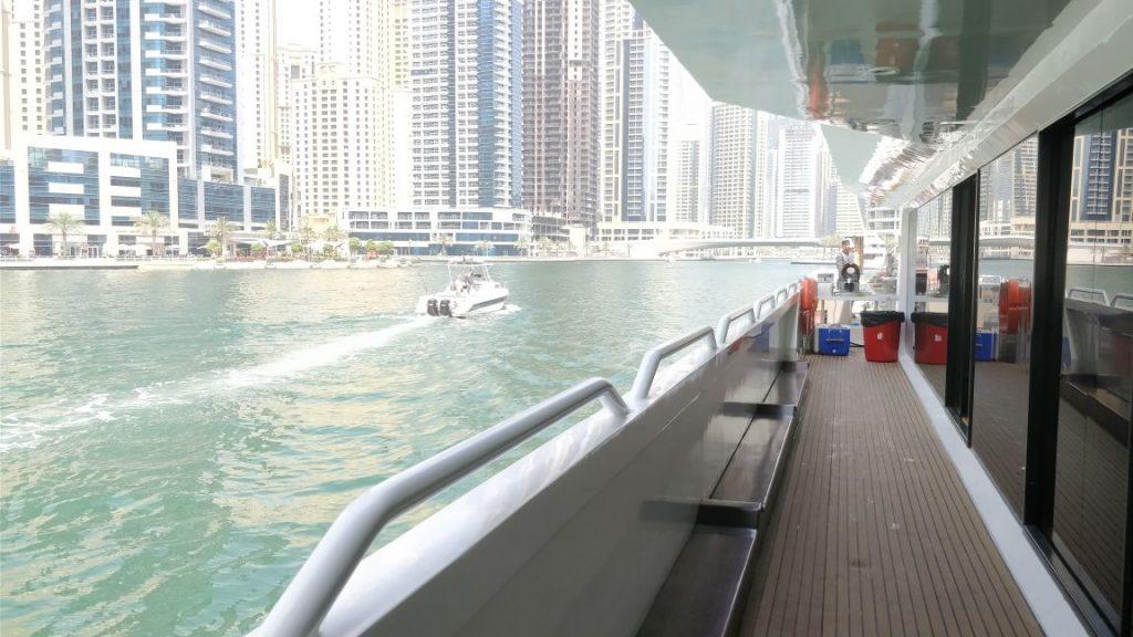 yacht, deck, dubai marina, lotus mega yacht