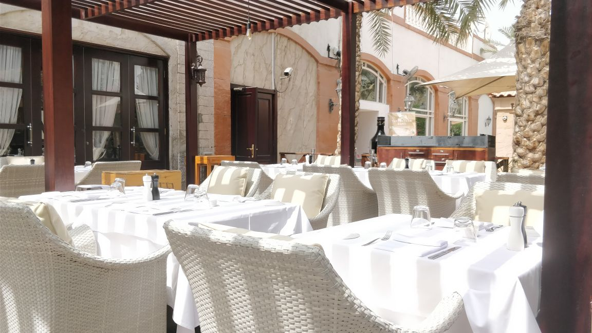 Le Meridian Dubai, Casa Mia, 5 star hotel, 5 star property