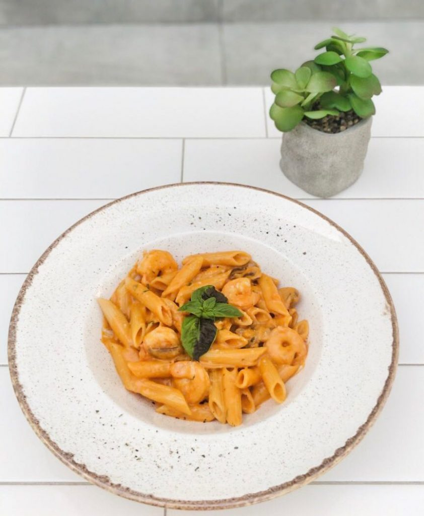 pasta, italian pasta, arbiata, creamy pasta, arabic pasta