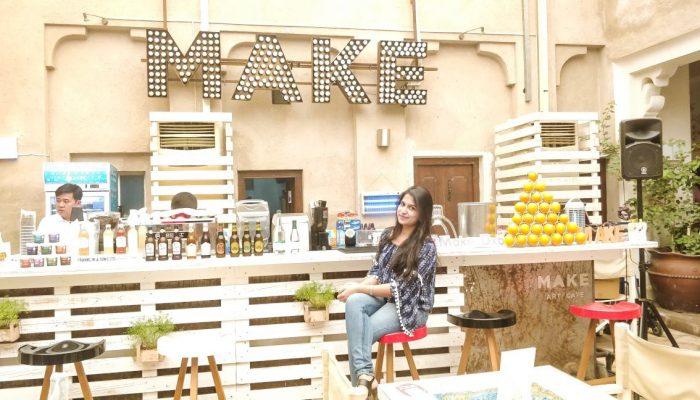 Make Art Café, Dubai
