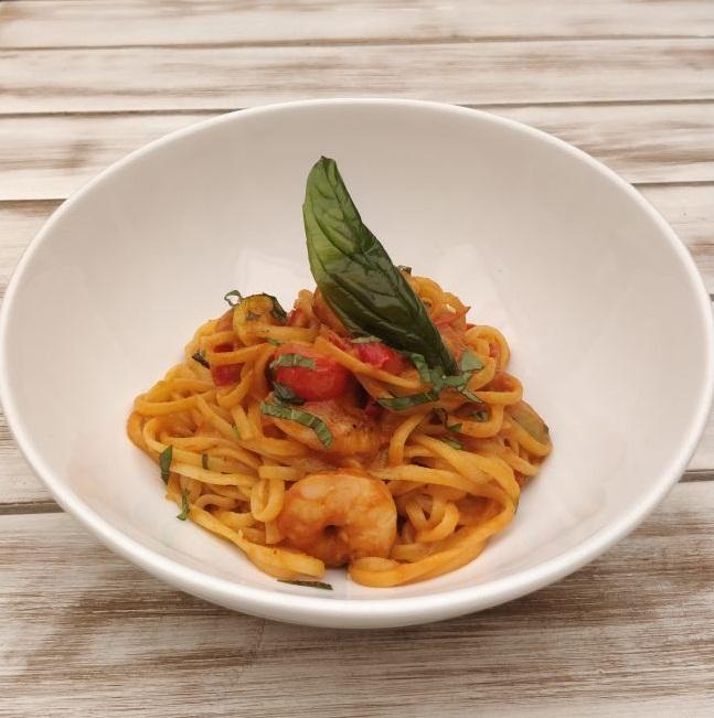 Prawn Noodles, prawns, noodles