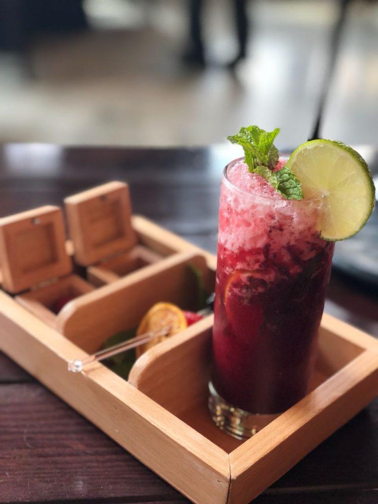 Berry Blues, drink, farzi, cafe