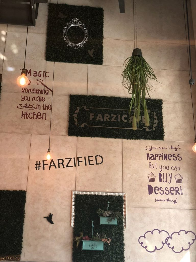farzi, farzi cafe, interiors