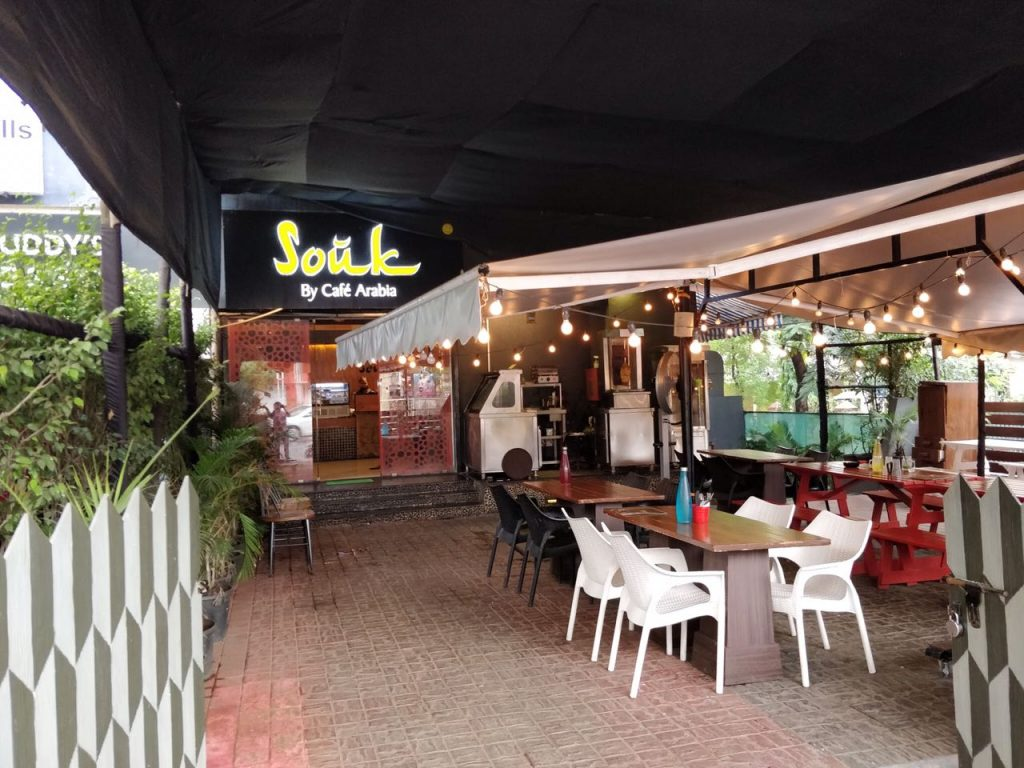 Souk, restaurant, pune, arabic restaurant,