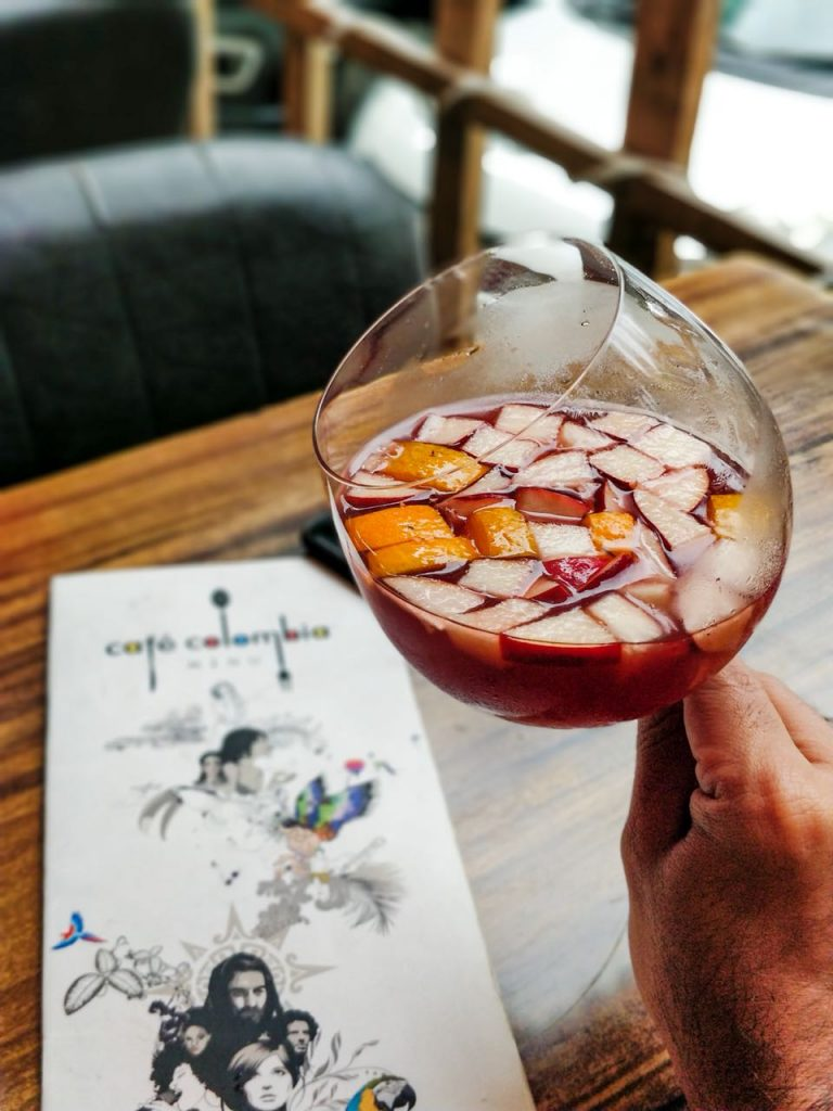 red wine, sangria, drink, mocktail, cocktail, punefoodblogger