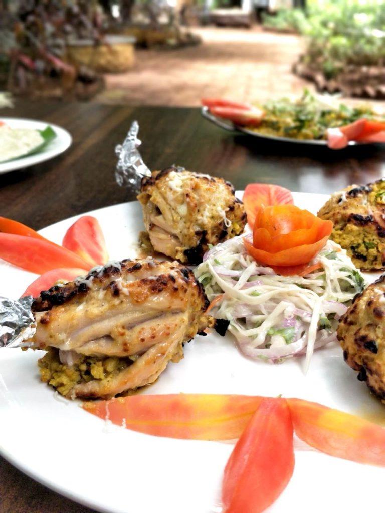 Chicken Tangdi, chicken tikka, stuffed chicke, masakha pune, zomato india