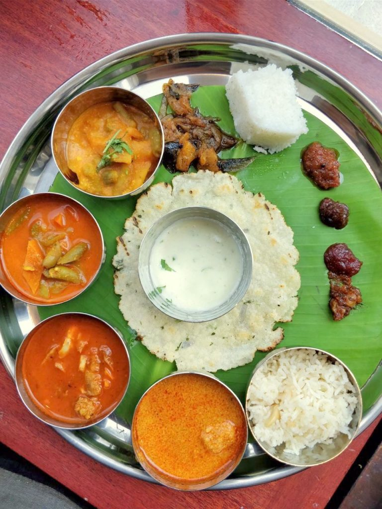 Special Coorg Thali, thali, veg thali, coorg thali, kondhwa, kondava, kondhwa thali
